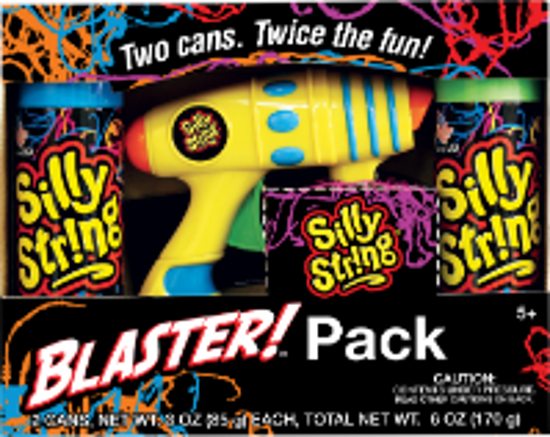 Picture of SILLY STRING Blaster Pack