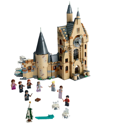 Picture of LEGO Harry Potter's Hogwarts Clock Tower #75948