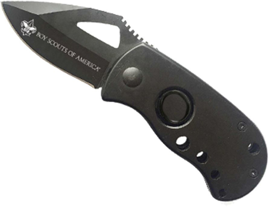 Picture of Squat Lock Blade Knife w/ Clip & BSA® Branding