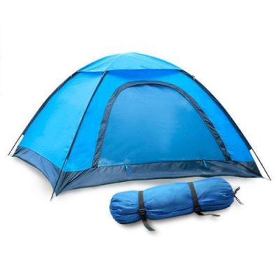 Picture of 2-Person Waterproof Tent - Blue