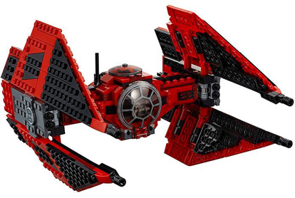 Picture of LEGO Star Wars Major Vonreg's TIE Fighter #75240