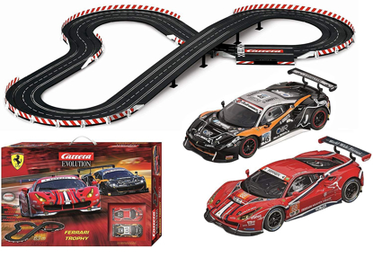 Picture of Carrera USA Ferrari Trophy Slot Car Racing