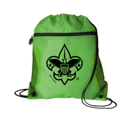 Picture of Cinch Backpack with BSA® Branding - Green